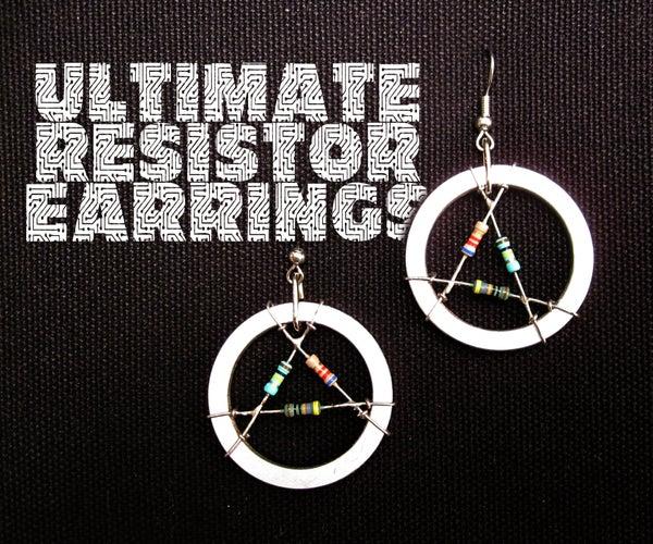 The Ultimate Resistor Earrings