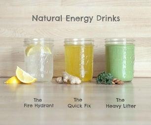 Bebida Energética Casera (y Otras Maneras Naturales De Mantener La Energía)