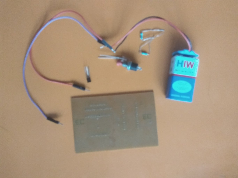 NOT Gate Using Transistor