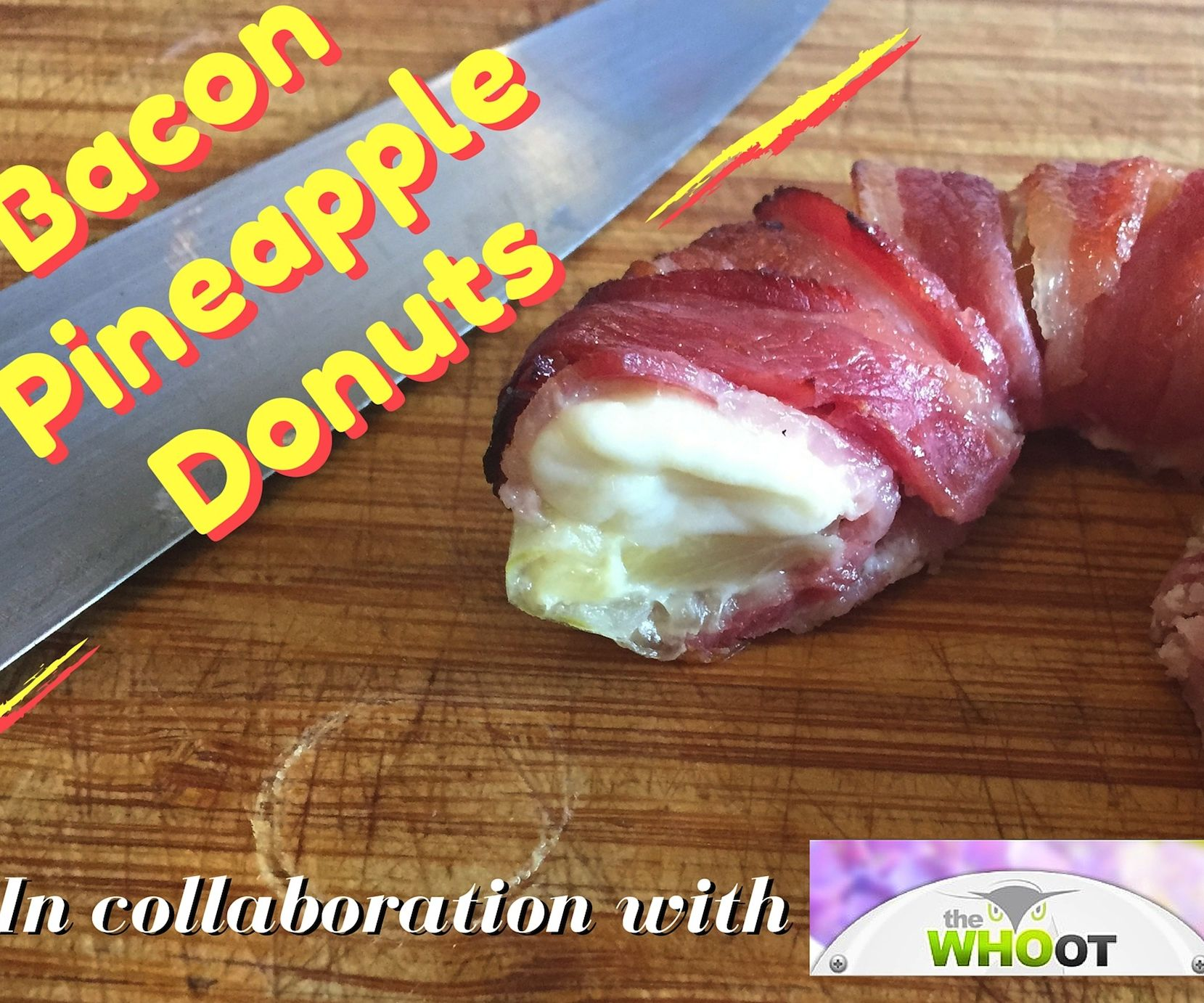 Bacon Pineapple Donuts