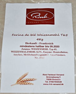 Flour Numbering and Naming Systems