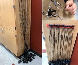 切割绳索焊接活动
