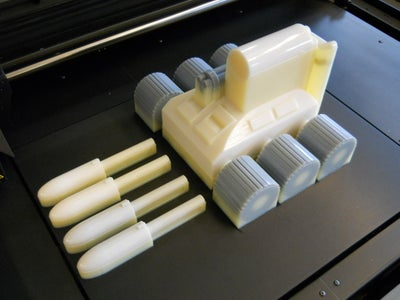 Finish the 3D Printing and Remove the Prototype