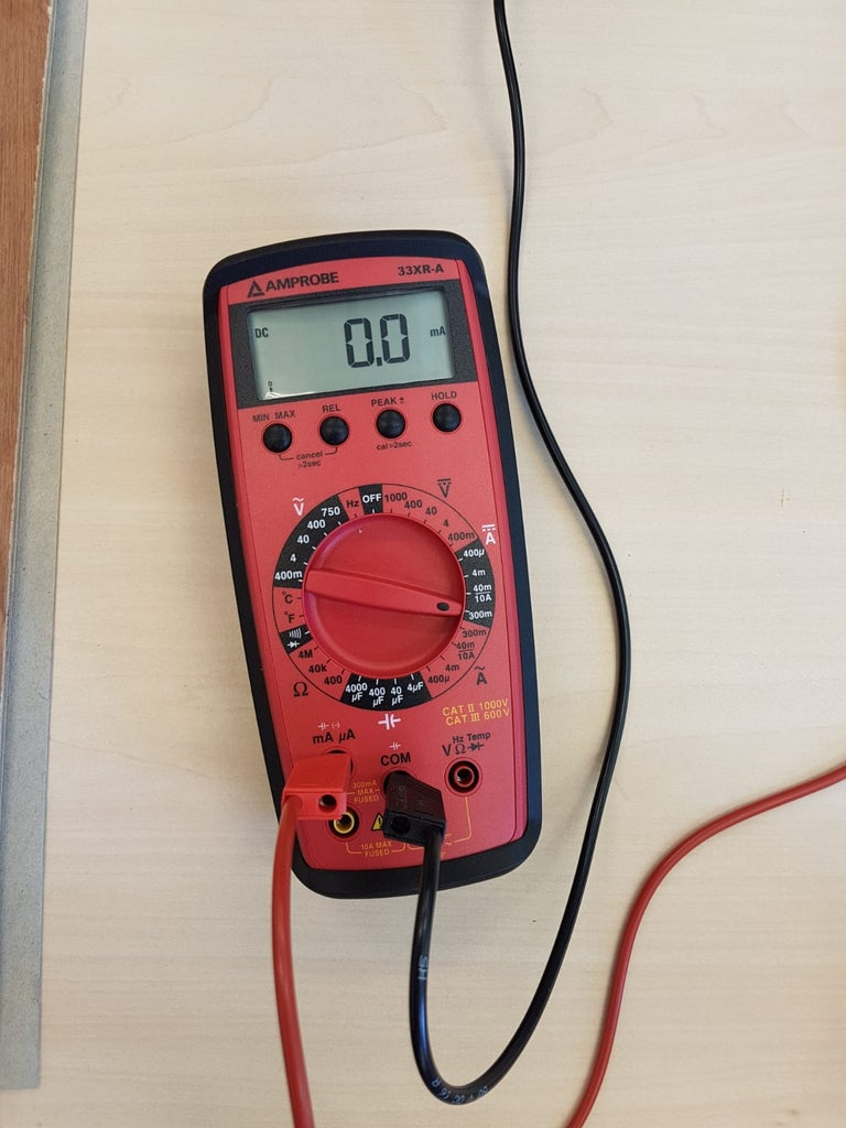 Connecting the Multimeter