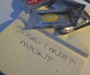Sugru Lancet Mount - Diabetic Lifehach