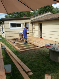 Build (deck Boards) Day 2