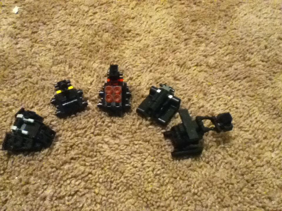 Lego Combaticons Part 1: Brawl