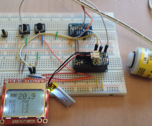 Easy to Build Oxygen Analyzer Using an Arduino Compatible Micro Controller