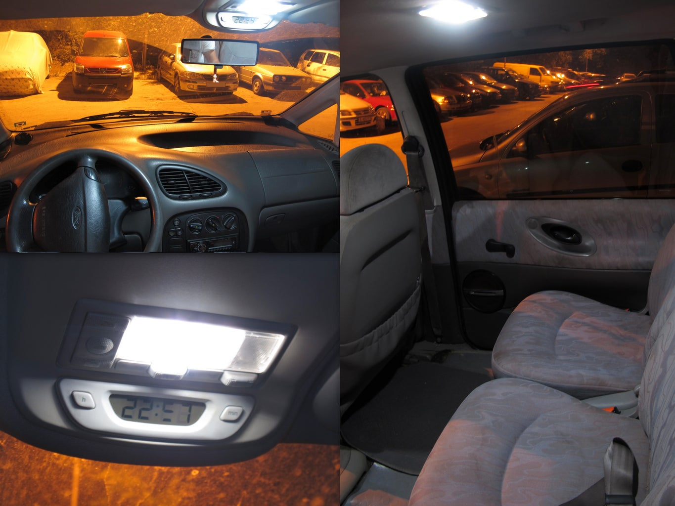 Put the LED Lights in the Car and Enjoy