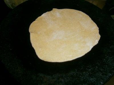 Phulka/Roti/Chapthi (Puffed) - Heat Pan