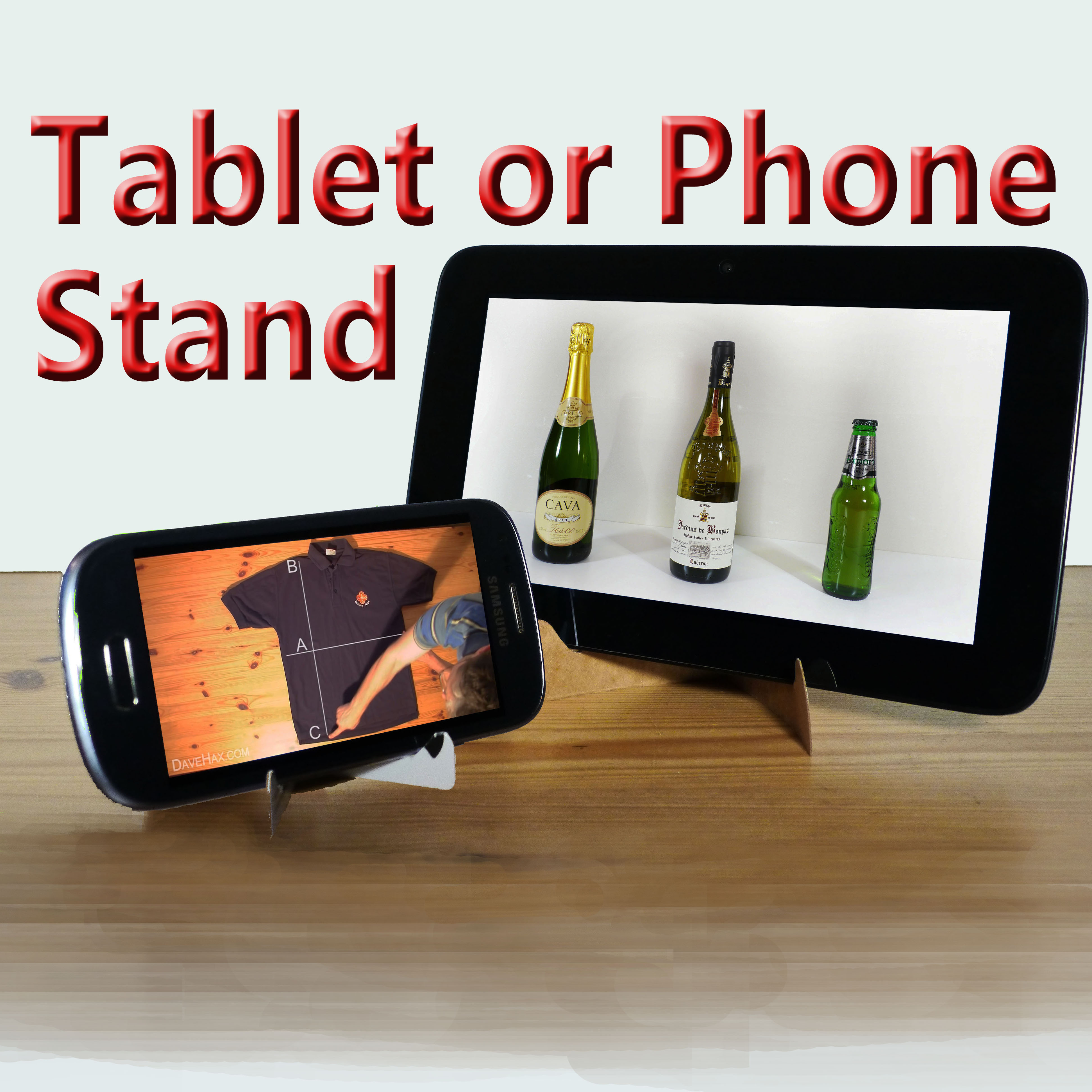 How to Make a Phone or Tablet Stand