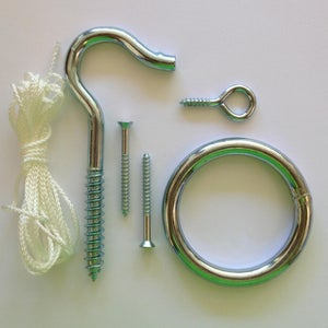 Hook & Ring Toss Game Instructions