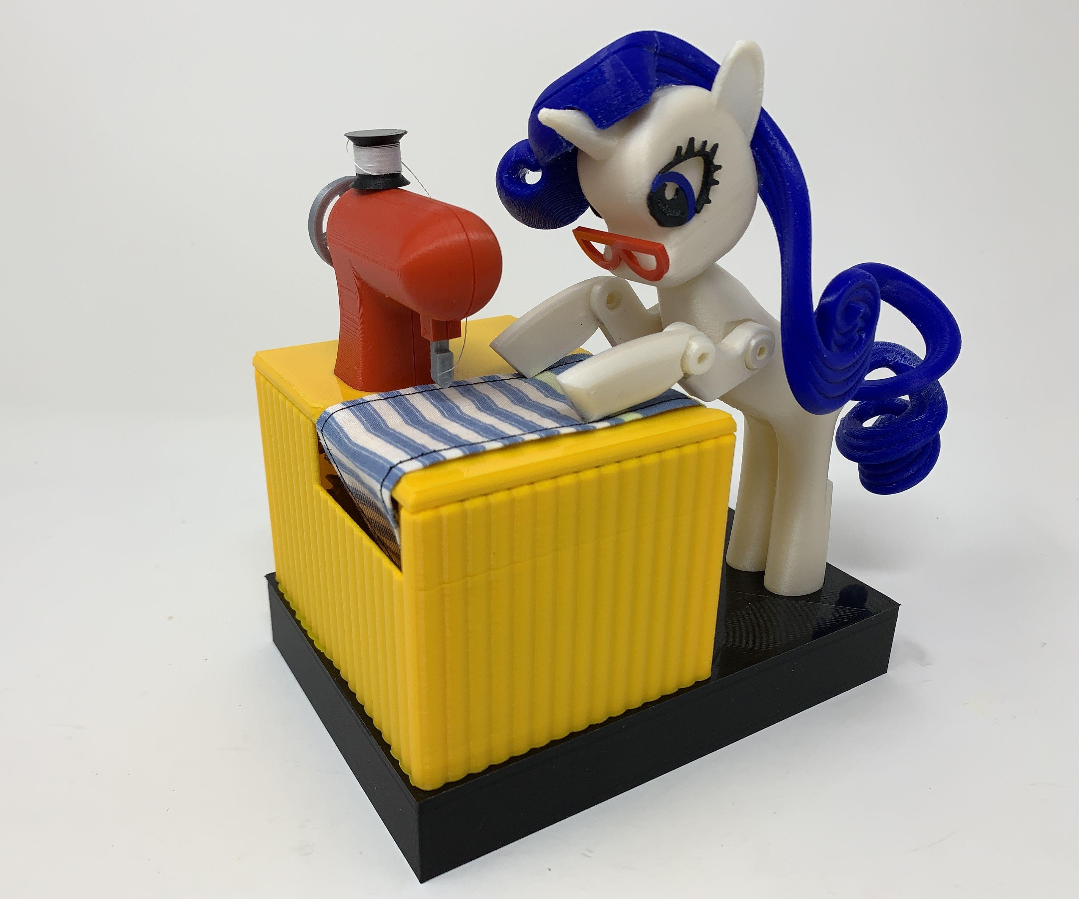 """Rarity"", a 3D Printed Automaton"