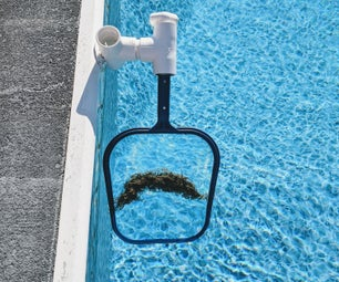 Effortless Pool Skimmer - Easy to Make