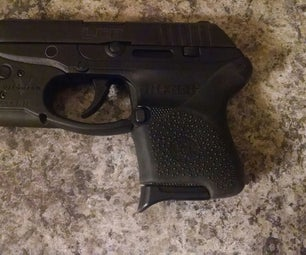 Ruger LCP 380 Hogue Handall Grip