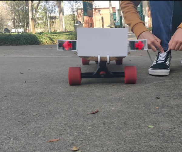 SkateHub Blinkers for Skateboard