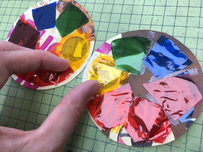 Add Gels / Colour Cellophane Sheets