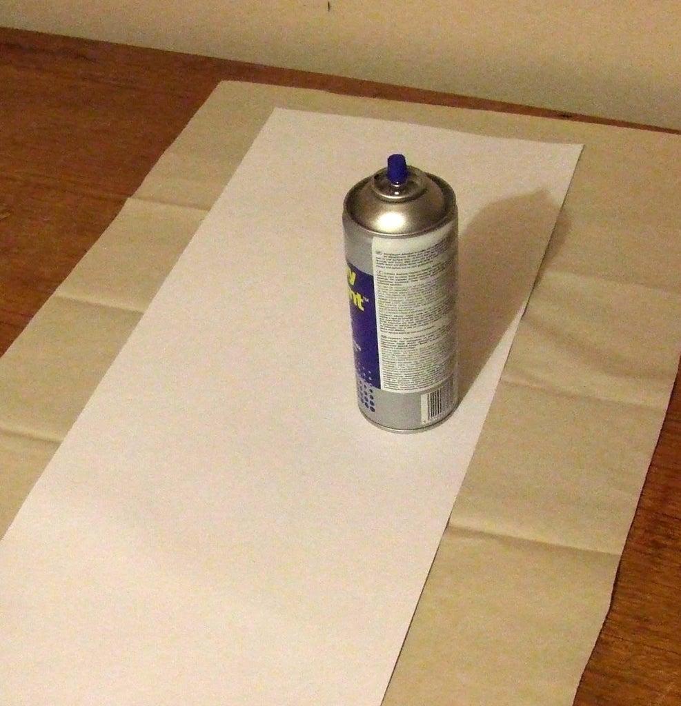 Spray Card With Mount Spray