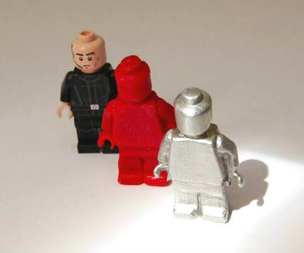 Casting Objects in Sugru (Make your own candle-wax and metal LEGO Minifigs!)