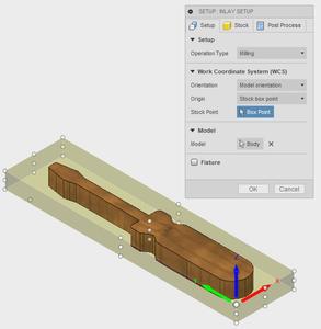 CAM: Inlay Setup