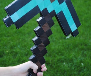 Minecraft Pickaxe - $5 and 45 Minutes
