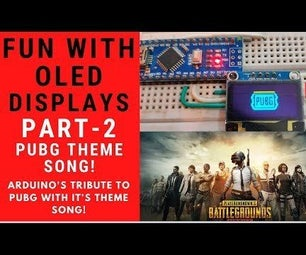 PUBG Theme Song+Animation With Arduino!