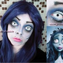 Corpse Bride Makeup Tutorial-8 Easy Steps