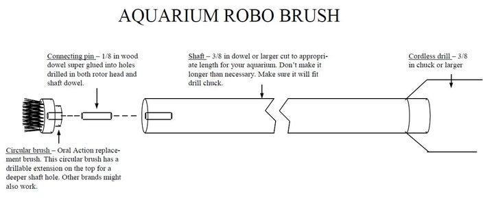 Aquarium Robo Brush
