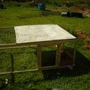 simple chicken tractor