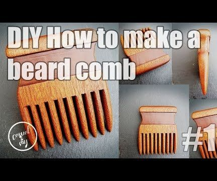 How to Make Wooden Beard Comb