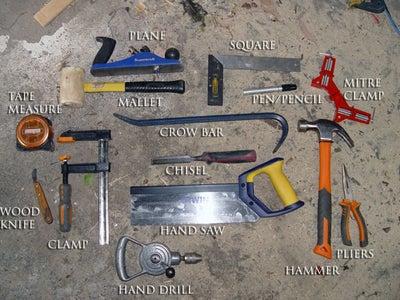 Step 1. - Tools