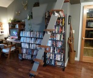 节省空间的阁楼梯/楼梯(100%回收物料)