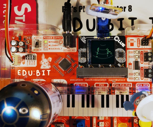 Using the Cytron Edu:bit With the Adafruit CLUE