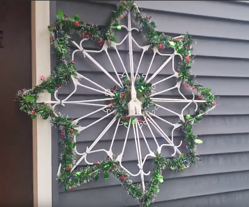 Snowflake Decoration With Hangers