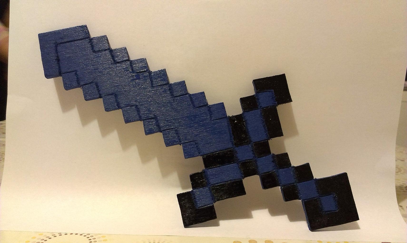 Minecraft Wooden Sword