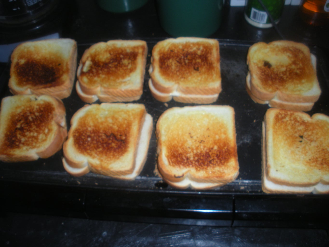 Plain Grilled Cheese