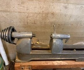 New Life for an Old Wood Lathe