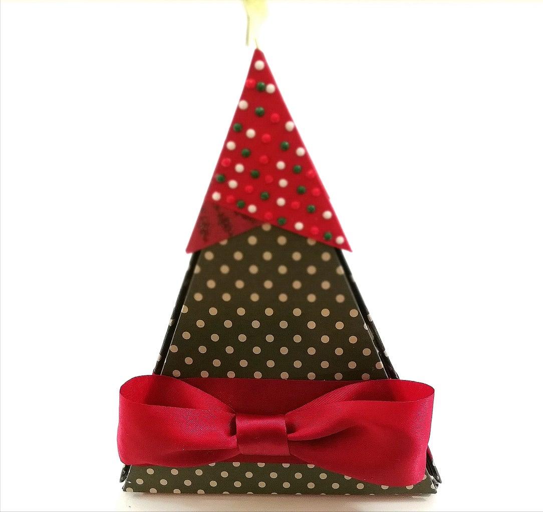 Christmas Tree Explosion Box | Christmas Card 2018