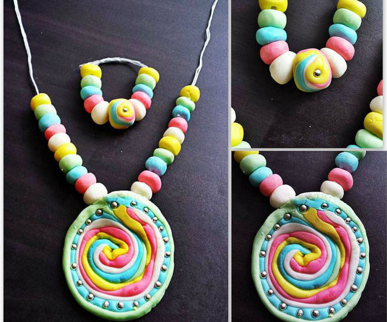 Homemade Candy Jewelery for Kids