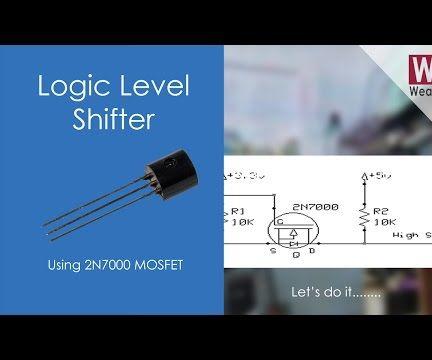 Logic Level Shifter using 2N7000