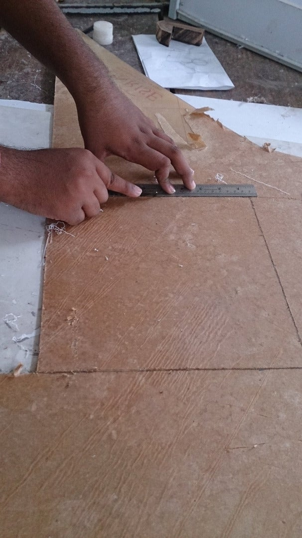 Cutting of Glass and Plywood