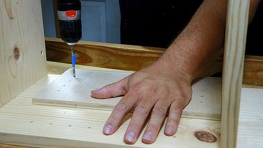 Optional Shelf Pin Holes