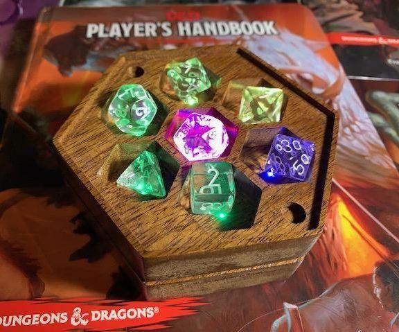 LED骰子盒