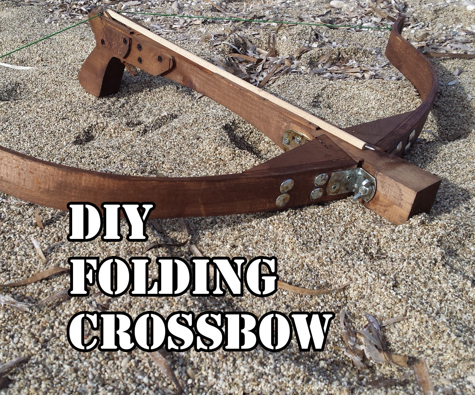 Making a Folding Crossbow
