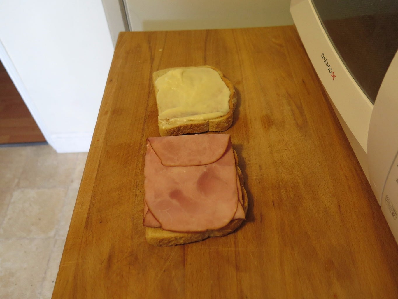 Preparing the Sandwich