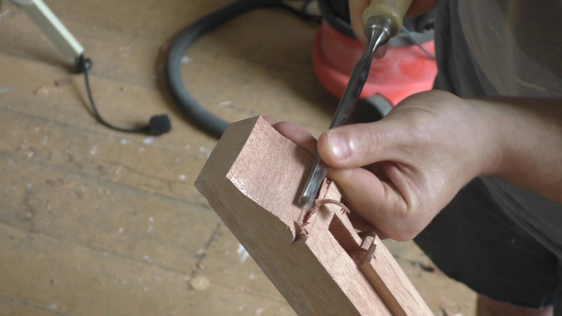 Carve the Top of the Molding
