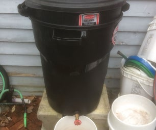 Improved Improved Continuous Compost Tea Bin
