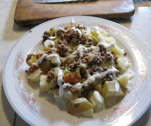 Gourmet Microwave Potato