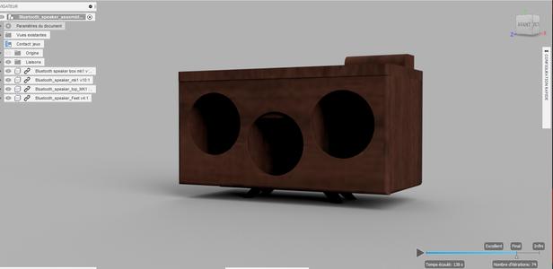The 3D Printed Parts : Cura Settings & Parts