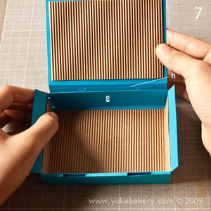 Glue Cover Flap to Base Side